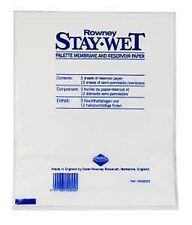 Daler Rowney Stay Wet Mixing Palette Refill for Acrylics - Staywet Small