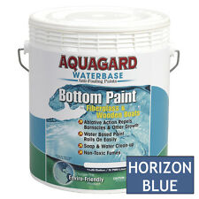 Aquagard Waterbase BOAT MARINE ANTI FOULING BOTTOM PAINT 1 GALLON HORIZON BLUE