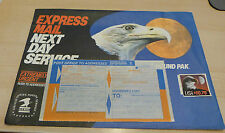 #2122 Express Mail 1988 Eagle 10.75 2 pound used cover