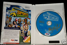 KRISTI YAMAGUCHI Dual Signed Nintendo Wii Celebrity Auto Game PSA/DNA Autograph