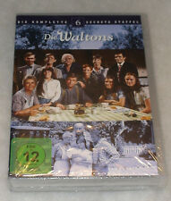 The Waltons Completo Temporada 6 SEXTA - DVD Box Set Nuevo Sellado - REGIÓN 2