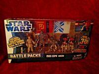 Star Wars Battle Packs Mos Espa Arena Walmart Exclusive Action Figure Set - MIB