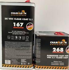 High Gloss 2.1 VOC European Clear Coat 2K 2:1 Mix FAST (2 gallon) 7.5L Germany