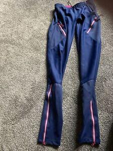Gore Wear Cycling Pants Leggings Women's Blue XS Windstopper No Flaws