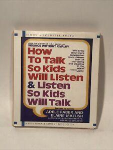 How To Talk So Kids Will Listen & Listen So Kids Will Talk, Audio CD
