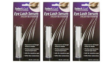 LASH Growth Extension Enhancer SERUM~ Grow Thicker Longer Eyelash Hair Pack of 3