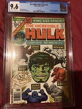 The Incredible Hulk 5 Annual CGC 9.6 2ND Appearance Of Groot