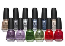 China Glaze Nail Lacquer - WELCOME TO JOLLYWOOD Collection - Pick Color 0.5oz