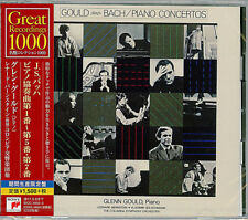 GLENN GOULD-J.S.BACH: PIANO CONCERTOS NO. 1-5 & NO.7-JAPAN 2 CD C94