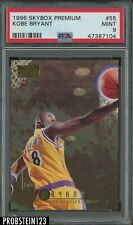 1996-97 Skybox Premium #55 Kobe Bryant Lakers RC Rookie HOF PSA 9 MINT