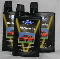 12 Flaschen Hartwachs Hart Wachs 12 x 500 ml Auto Politur Phönix Systempflege