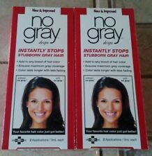 No Gray Drops (2 boxes of 2 applications for 4 total applications/ 3mL each)