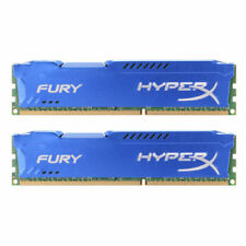 New HyperX FURY 16GB 2X 8GB 1600MHz DDR3 PC3-12800 CL11 240-Pin Desktop Memory