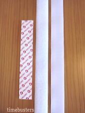 VELCRO 1m Hook And 1m Loop Sewing/Stitch/Sew On Tape/Strip White 25mm For Fabric