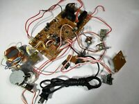 Denon Turntable DP-40F Arm Servo Control Board PCB Potentiometers Power Switch