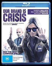 Our Brand Is Crisis - Blu-ray, 2016 (LIKE NEW) Aus Region B
