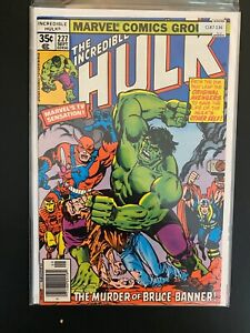 The Incredible Hulk 227 High Grade Marvel Comic Book CL87-136