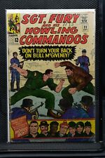 Sgt Fury and His Howling Commandos #22 Marvel Silver Age Comic 1965 Stan Lee 3.0