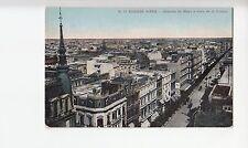 B78614 avenida de mayo y vista d  buenos aires  argentina  scan front/back image