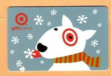 Collectible 2002 Target Gift Card - Dog Catching Snowflakes - No Cash Value