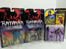 Batman Special Edition Nightwing & Cyborg Batman Kenner Warner Bros 1995 + Catwo