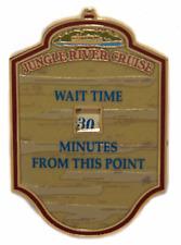 Disney Pin 72609 WDI Wait Time Sign HKDL Jungle River Cruise Cast Member LE *