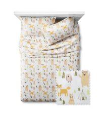 Pillowfort Woodland Whimsy 4 Piece Sheet Set Full Size Target