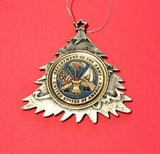 UNITED STATES ARMY SEAL USN CHRISTMAS TREE ORNAMENT PERSONALIZED & SHIP FREE