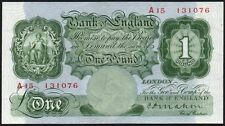 B212 MAHON 1928 £1 BANKNOTE * A15 131076 * FIRST SERIES * gEF *