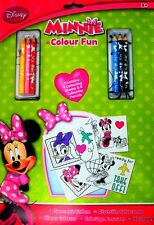Disney Junior Minnie Mouse: Colour Fun Colouring Book and Pencils Set, 3+ Years