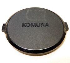 Komura 62mm snap on type Lens Front Cap vintage Sankyo Kohki