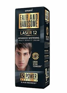 Emami Fair and Handsome Laser 12 Advanced Whitening and Multi Benefit Cream 60g