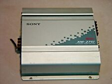 Sony XM-2751 Car Stereo Amplifier