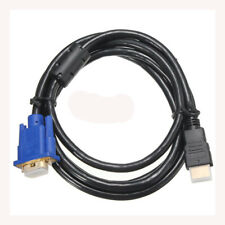 1.8M HDTV HDMI maschio di Connettore video VGA cavo adattatore Cavo per PC G0M8