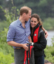 Catherine, Duchess of Cambridge & Prince William UNSIGNED photo - H5970