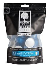 100 capsule Caffè al Ginseng ESPRESSO per macchine Nespresso