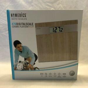 HoMedics Grey Stone Digital Bath Scale SC-476