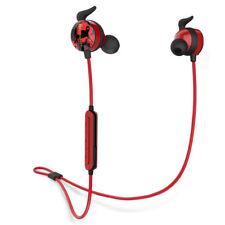 Bluedio AI Bluetooth 4.2 Wireless Sports Headphones Sweatproof Mic Headsets Red