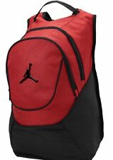 f517d74e0b23 NIKE Air Jordan Jumpman Red Black Elephant Backpack Laptop Bag 9A1118  50  NEW