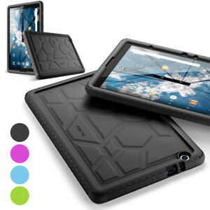 For AT&T ZTE Primetime Tablet Case Flexible Shockproof Silicone Cover