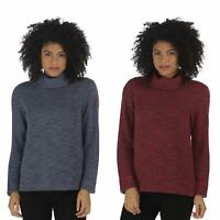 Regatta Ceanna Cowl Neck Soft Fleece Pull Over Jumper Sweater Top (RWA276)