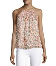 New Joie Pomeline Sleeveless Halter-Neck Floral-Print Top Size Small MSRP $198