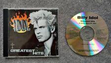 Billy Idol Greatest Hits Promo Advance Chrysalis Records Rock Music Rare CD OOP