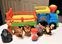 Fisher-Price Little People Choo-Choo Zoo Train with figures