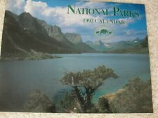 Lot of 3 National Parks calendars: 1992 11 x 14 Wall Calendar & two 7 x 7 Minis