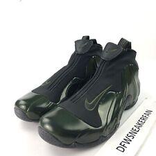 huge discount 1483c ed3c3 Nike Air Flightposite Men s 9 Legion Green AO9378 300 2018 Basketball Shoes  New