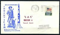 Stati Uniti 1969 Mi. 638 Busta 100% SAC Minuteman