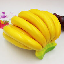 Lifelike Artificial Banana Bunch Fruits Fake Display Prop For Home Kitchen Decor