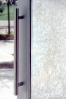 "RICE PAPER WINDOW FILM Textured Glass Look 24"" x 36"" Vinyl Static Cling Films"