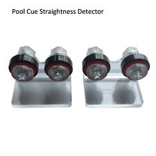 Snooker & Pool Cue Straightness Detector Straight Inspect Shaft Pocket Tool